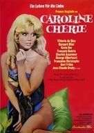 Caroline chérie - German Movie Poster (xs thumbnail)