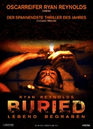 Buried - Swiss Movie Poster (xs thumbnail)