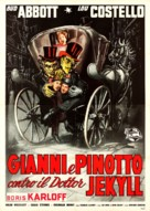 Abbott and Costello Meet Dr. Jekyll and Mr. Hyde - Italian Movie Poster (xs thumbnail)