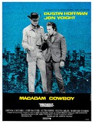 Midnight Cowboy - French Movie Poster (xs thumbnail)