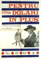 Per qualche dollaro in più - Romanian Movie Poster (xs thumbnail)