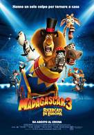 Madagascar 3: Europe's Most Wanted - Italian Movie Poster (xs thumbnail)