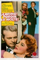 Darling, How Could You! - Spanish Movie Poster (xs thumbnail)