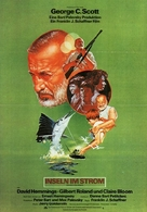Islands in the Stream - German Movie Poster (xs thumbnail)