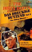 The Dirty Dozen: Next Mission - German VHS cover (xs thumbnail)