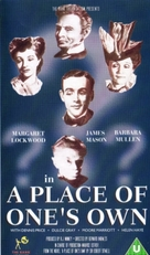 A Place of One's Own - British VHS movie cover (xs thumbnail)