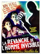 The Invisible Man's Revenge - Belgian Movie Poster (xs thumbnail)