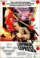 Avalanche Express - German Movie Poster (xs thumbnail)