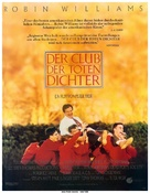 Dead Poets Society - German Movie Poster (xs thumbnail)