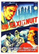 Midnight Taxi - French Movie Poster (xs thumbnail)