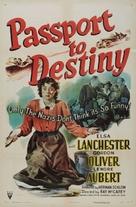Passport to Destiny - Movie Poster (xs thumbnail)