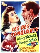 Below the Deadline - Belgian Movie Poster (xs thumbnail)