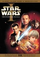 Star Wars: Episode I - The Phantom Menace - DVD movie cover (xs thumbnail)