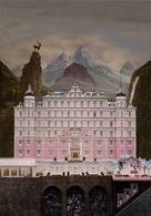 The Grand Budapest Hotel - British Movie Poster (xs thumbnail)