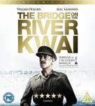 The Bridge on the River Kwai - British Blu-Ray movie cover (xs thumbnail)