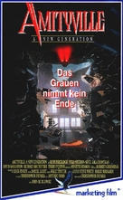 Amityville: A New Generation - German VHS cover (xs thumbnail)