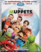 Muppets Most Wanted - Blu-Ray movie cover (xs thumbnail)