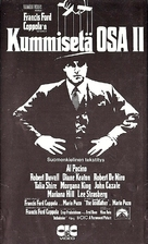 The Godfather: Part II - Finnish VHS cover (xs thumbnail)