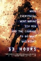 13 Hours: The Secret Soldiers of Benghazi - Danish Movie Poster (xs thumbnail)