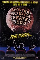 Mystery Science Theater 3000: The Movie - Video release poster (xs thumbnail)