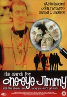 The Search for One-eye Jimmy - British DVD movie cover (xs thumbnail)