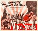 Africa Speaks! - poster (xs thumbnail)