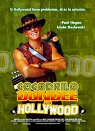 Crocodile Dundee in Los Angeles - Mexican Movie Poster (xs thumbnail)