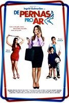 De pernas pro ar - Brazilian Movie Poster (xs thumbnail)