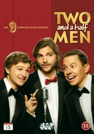 """""""Two and a Half Men"""" - Swedish DVD movie cover (xs thumbnail)"""