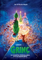 The Grinch - Turkish Movie Poster (xs thumbnail)