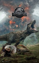 Jurassic World Fallen Kingdom - Egyptian Movie Poster (xs thumbnail)