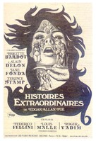 Histoires extraordinaires - Spanish Movie Poster (xs thumbnail)