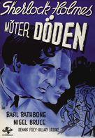 Sherlock Holmes Faces Death - Swedish Movie Poster (xs thumbnail)