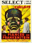 Bride of Frankenstein - Belgian Theatrical poster (xs thumbnail)