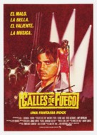 Streets of Fire - Spanish Movie Poster (xs thumbnail)