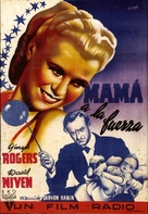 Bachelor Mother - Spanish Movie Poster (xs thumbnail)