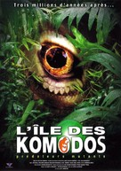The Curse of the Komodo - French Movie Cover (xs thumbnail)