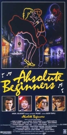 Absolute Beginners - Italian Movie Poster (xs thumbnail)