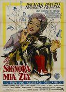Auntie Mame - Italian Movie Poster (xs thumbnail)