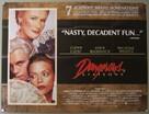 Dangerous Liaisons - British Theatrical movie poster (xs thumbnail)
