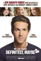 Definitely, Maybe - Movie Poster (xs thumbnail)