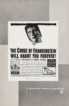 The Curse of Frankenstein - poster (xs thumbnail)