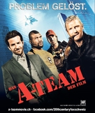 The A-Team - Swiss Movie Poster (xs thumbnail)