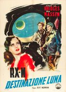 Rocketship X-M - Italian Movie Poster (xs thumbnail)
