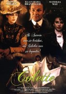 Becoming Colette - Swedish Movie Poster (xs thumbnail)