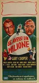 If I Had a Million - Italian Movie Poster (xs thumbnail)