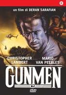 Gunmen - Italian DVD cover (xs thumbnail)
