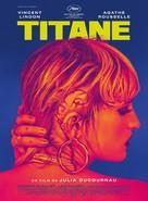 Titane - French Movie Poster (xs thumbnail)