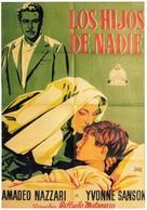 I figli di nessuno - Spanish Movie Poster (xs thumbnail)