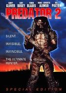 Predator 2 - DVD movie cover (xs thumbnail)